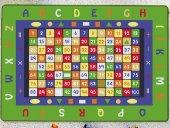Confetti Çocuk Odası Anaokulu Oyun Halısı Math 200x290