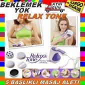 Relax Tone Titreşimli Zayıflama Masaj Aleti Selülit Cihazı