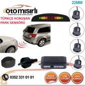 Türkçe Konuşan Led Göstergeli Park Sensörü Gri