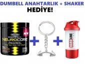 Muscletech Neurocore Pre Workout Dumbell Anahtarlık + Shaker Hediyeli