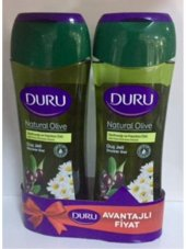 Duru Duş Jeli 2li Natural Olive 500+500ml