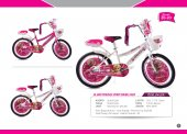 20 Jant Prenses Kız Çocuk Bisikleti (Sport Double Jant 20 20)