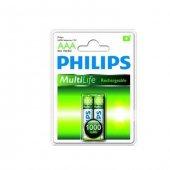 Philips R03b2a100 97 2li Şarj Edilebilir İnce Pil