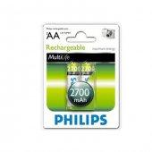 Philips R6b2a270 97 2li Şarj Edilebilir Pil