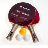 Lotto Racket Pingpong Set 6pcs Pindpong Set Raket M3405