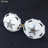 17.5 İnç Plastik Jant Kapağı Ve 5li Yıldız Fırfır Pro Model (2 Bombeli 2 Düz)