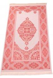 Lüks Açık Renk Osmanlı Tafta Seccade 0210 Kırmızı