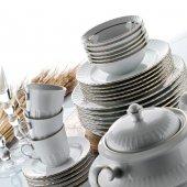 Kütahya Porselen Sedef 42 Parça 6 Kişilik Yemek Takımı