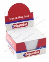 Bigpoint 129 Küp Not Beyaz 8x8 Cm
