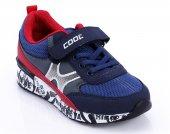 Lacivert Kırmızı Renk Çocuk Ayakkabı