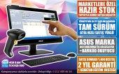 Asus Dokunmatik Pc + Barkodlu Satış Programı + Barkod Okuyucu