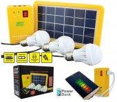 Güneş Enerjili Aydınlatma Sistemi
