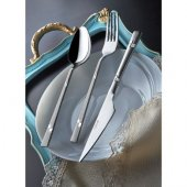Yetkin Diva Sade 90 Parça Delux Set Çatal Kaşık Bıçak Yemek Takım