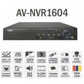 Avenir Ip 16kanal 5mp Av Nvr1604 4x 16tb Nvr Kayıt Cihazı Hdmı 10 100