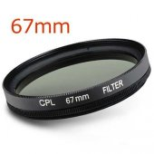 67mm Cpl Circular Polarize Filtre Filter