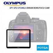 Olympus Sp1 Sp2 Lcd Ekran Koruyucu Cam Fotga