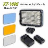 Sanger Xt 160ıı 160 Led Profesyonel Video Kamera Işığı