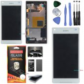 Sony Xperia Z5 Compact Lcd Ekran Dokunmatik (Çıtalı) Beyaz