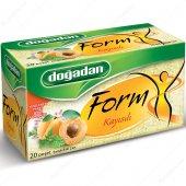 Bitki Çayı Form Kayısı 20 Li Bardak Poşet