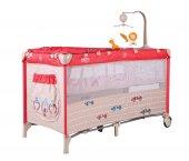 Sunny Baby 624 Siesta 60x120 Park Yatak Kırmızı