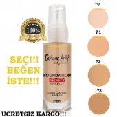 Catherıne Arley Velvety Effect Foundatıon 35ml Renk Seçiniz