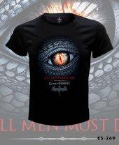 Büyük Beden All Men Must Die Tişört