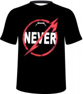 Metallica Tişört Never