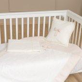 Funna Baby 5403 Premium Baby Nevresim Takımı 4 Parça Krem