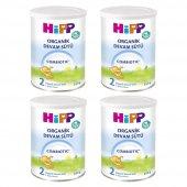 Hipp 2 Organik Combiotic Devam Sütü 350gr 4lü