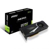 Msı 8gb Nvidia Gtx1080 Aero 8g Oc Ddr5 256bit Hdmı Dvı 3x Displayport 16x (Pcıe 3.0) 180w 500w 10.0ghz