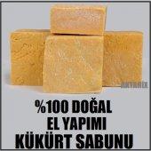 1 Kg. El Yapımı Kükürt Sabunu Ücretsiz Kargo