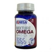 ıqmega Mixture Omega 3 5 6 7 9 Balık Yağı 60 Softjel Ücretsiz Kar