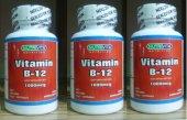 3 Kutu Nutrivita Vitamin B 12 1000 Mcg 120 Tablet B Vitamini