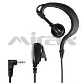Mirax Pmr Telsiz Kulaklığı, Mikrofonlu, 2,5mm Fiş, Motorola T6 T