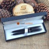 Alman Steel Pen 2 Li Kalem Seti Siyah Babalar Günü Özel