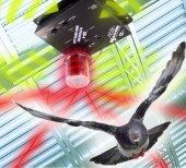 Bird X Super Quad Blaster Qb 4s Ultrasonik Kuş Kovucu 600 M2