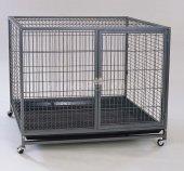 Dayang Izgaralı Tekerlekli Köpek Kafesi Xl 109.5x70x89.5 Cm