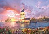 Anatolian 2000 Parça Kız Kulesinde Akşamüstü Puzzle