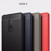 Nokia 5 Armor Zırh Kılıf + Kırılmaz Cam