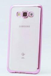 Samsung Galaxy A5 Silikon Kılıf Pembe 2xekran