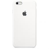 Apple Orijinal İphone 6 Plus 6s Plus Beyaz Silikon Kılıf