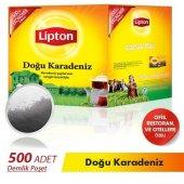 Lipton Doğu Karadeniz Demlik Poşet Çay 500lü