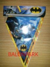 Batman 8 Kişilik 11 Parça Doğum Günü Set Mini.