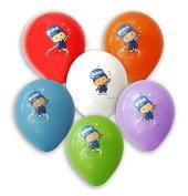 Pepe 48 Adet Pepee Baskılı Karışık Balon 12inç