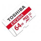 Toshiba 64gb Micro Sd Hafıza Kartı C10 U3 90mb S M302 Ea