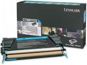 Lexmark C736h1cg C X 736 738 Yük.kap.mavi Toner Orjinal 10.000 Sy