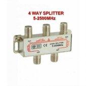 4lü Spliter Kablo Tv Dağıtma Çoklayıcı