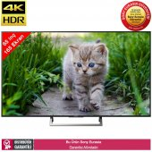 Sony Kd65xe7005 165 Ekran 4k Ultra Hd Led Tv