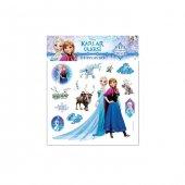 Frozen Elsa Anna 3d Puffy Sticker