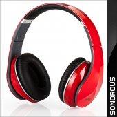 Sonorous Mikrofonlu Gürültü Önleme Özellikli Kulaklık Kırmızı